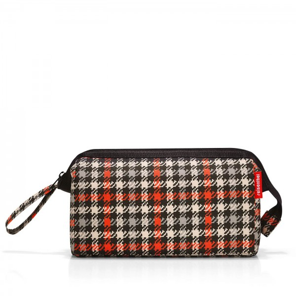 reisenthel TRAVELCOSMETIC glencheck red