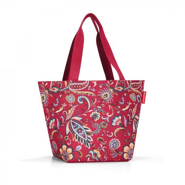 reisenthel shopper m paisley ruby