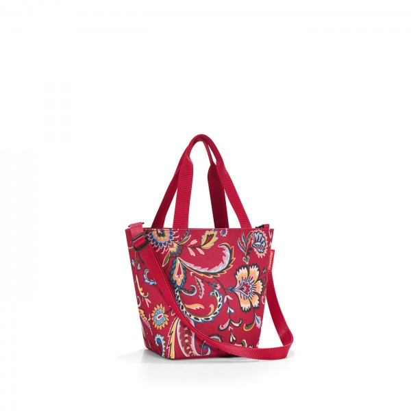 reisenthel shopper xs paisley ruby