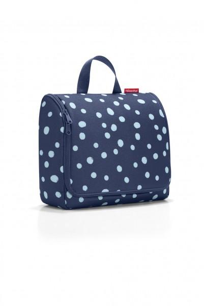 reisenthel toiletbag xl spots navy